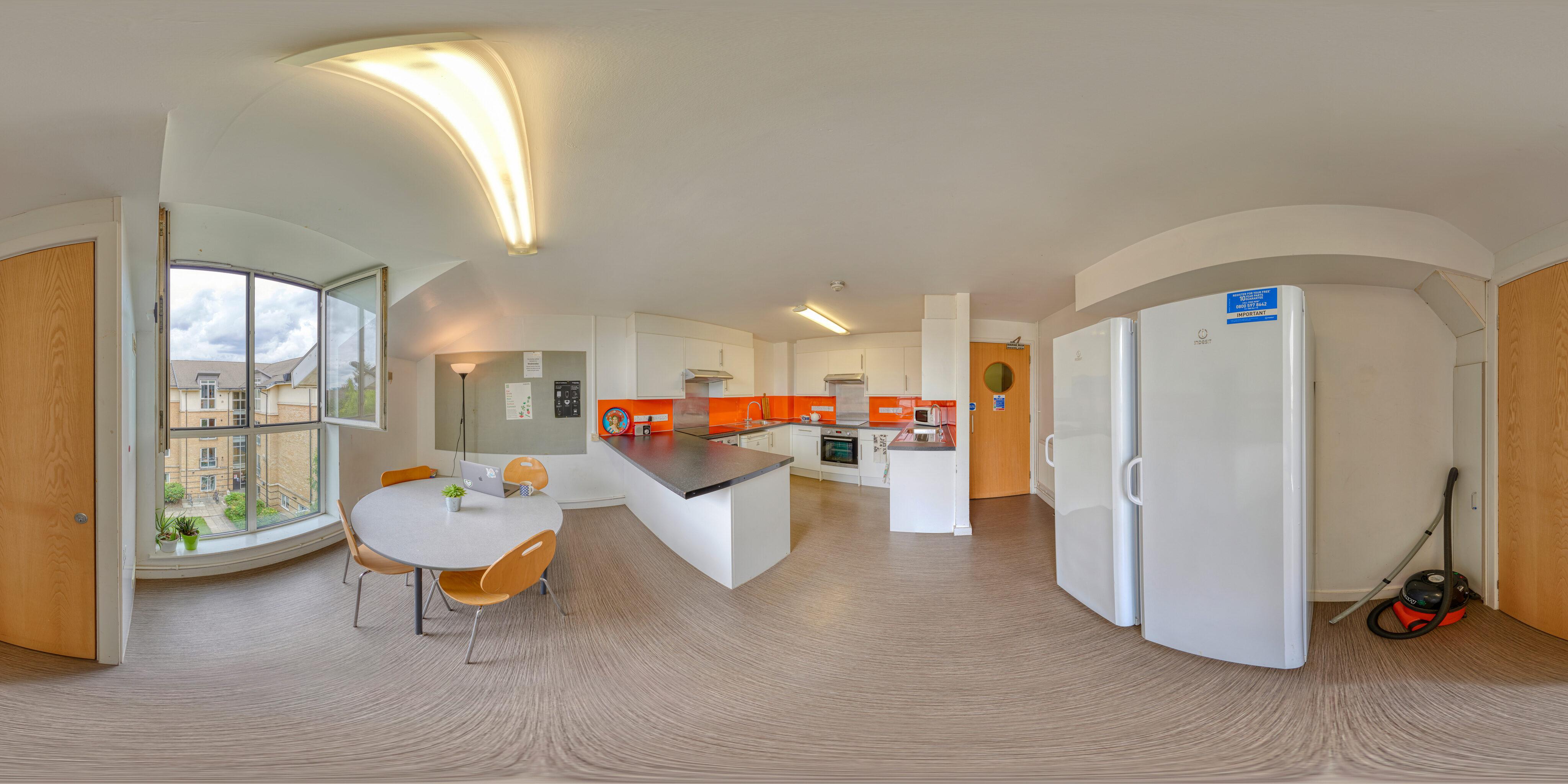 360 of Accommodation Kitchen