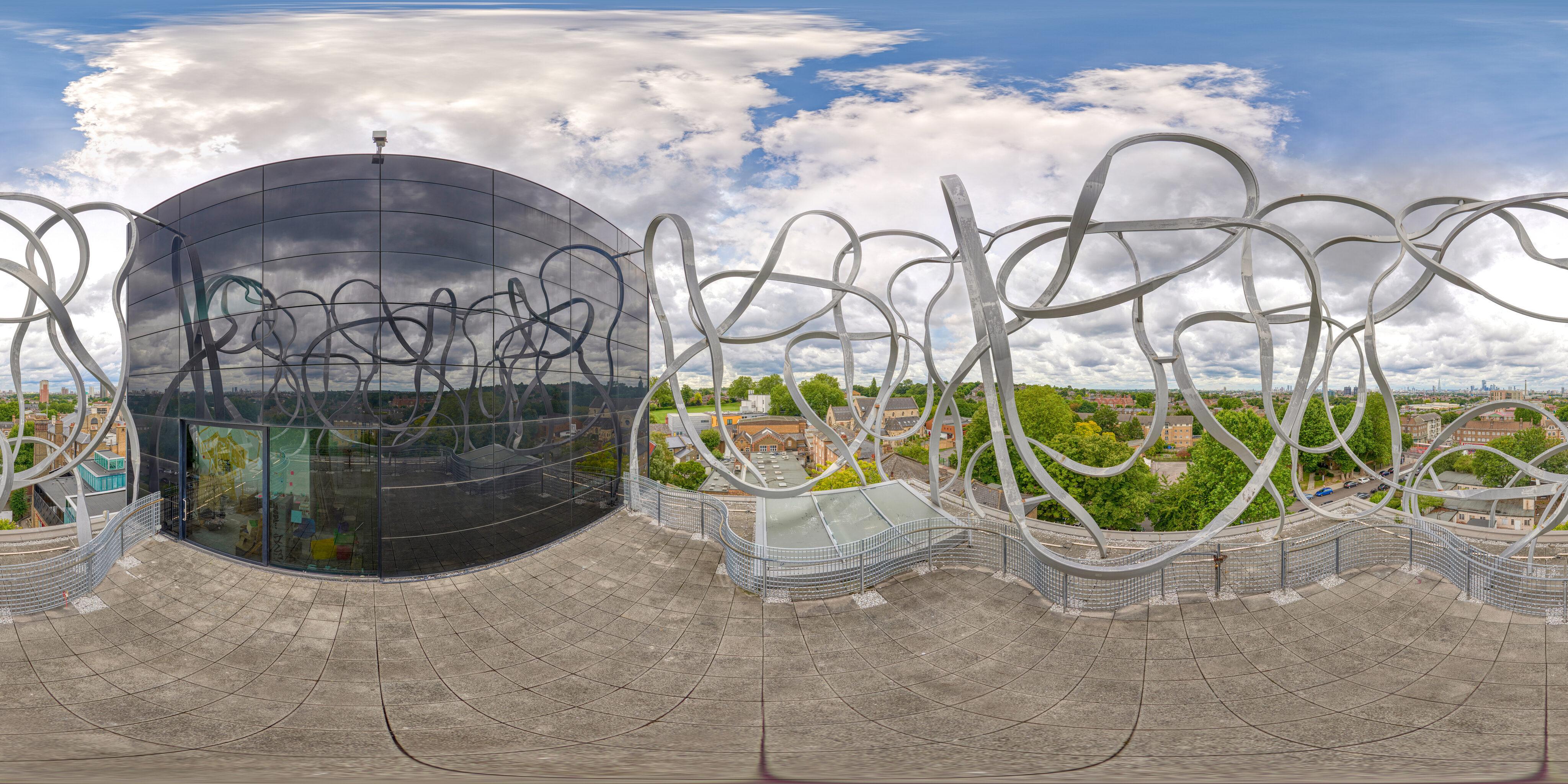 360 of Ben Pimlott Building Scribble