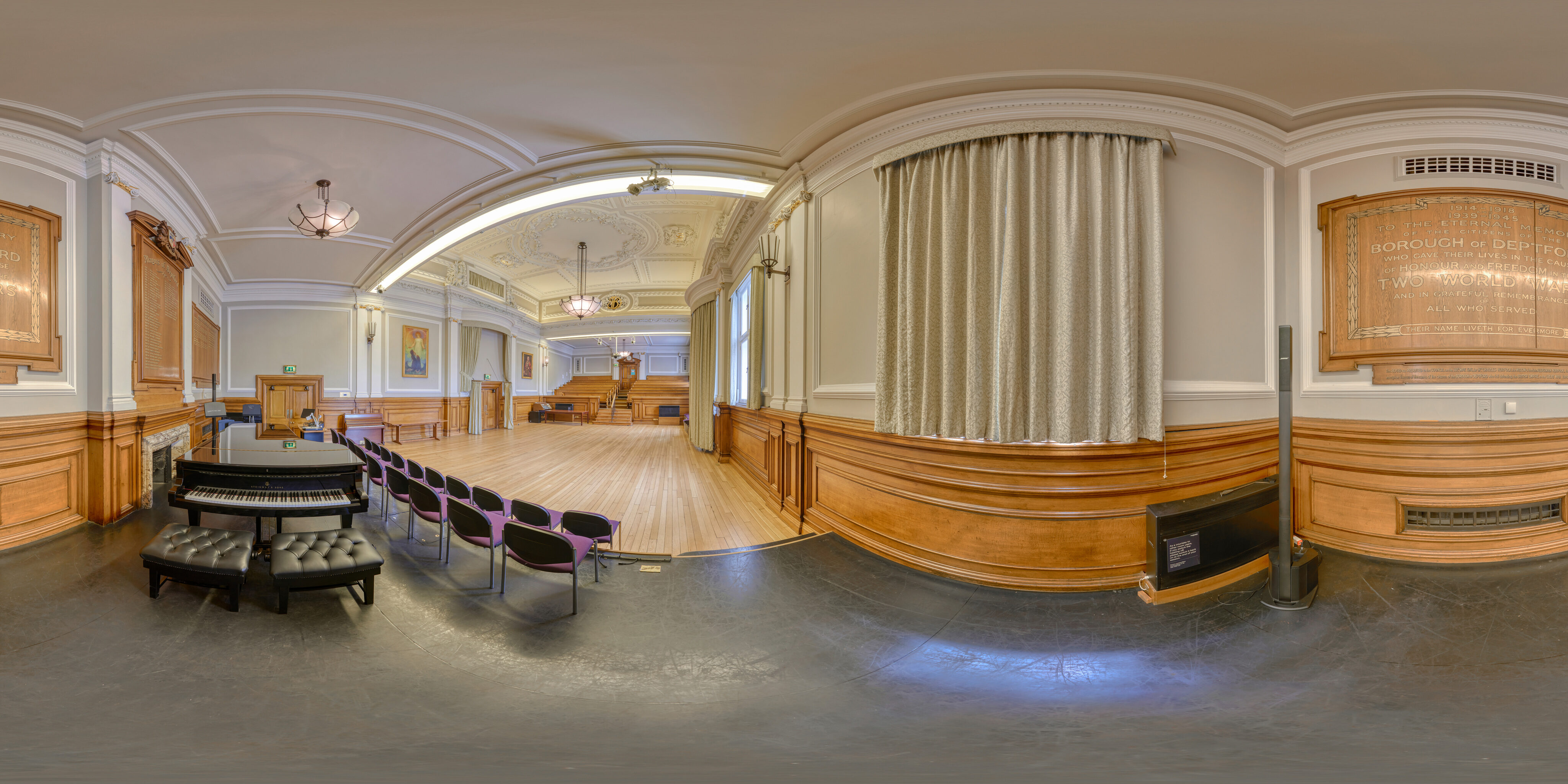 360 of council chamber