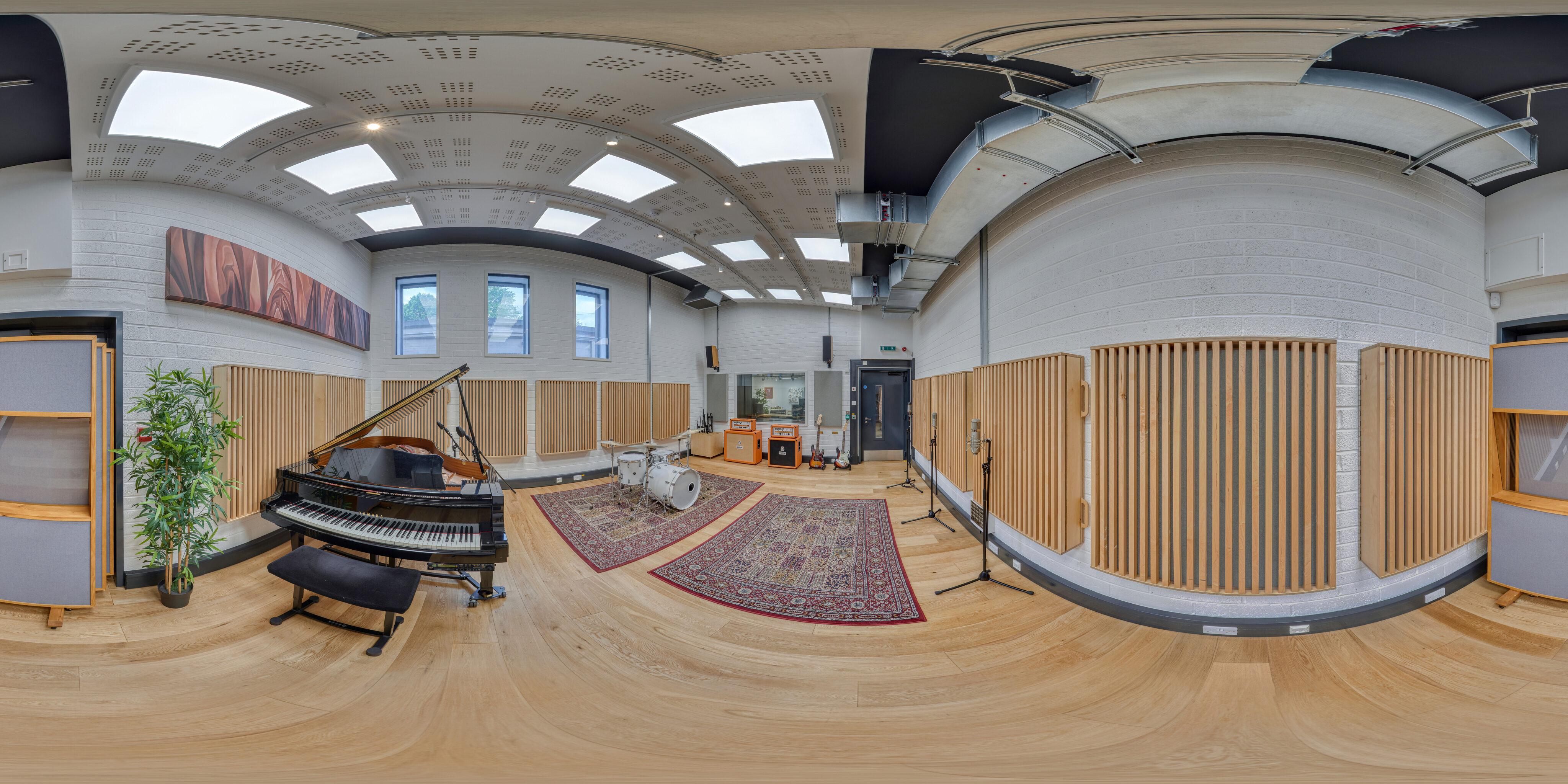 360 of Recording Studio