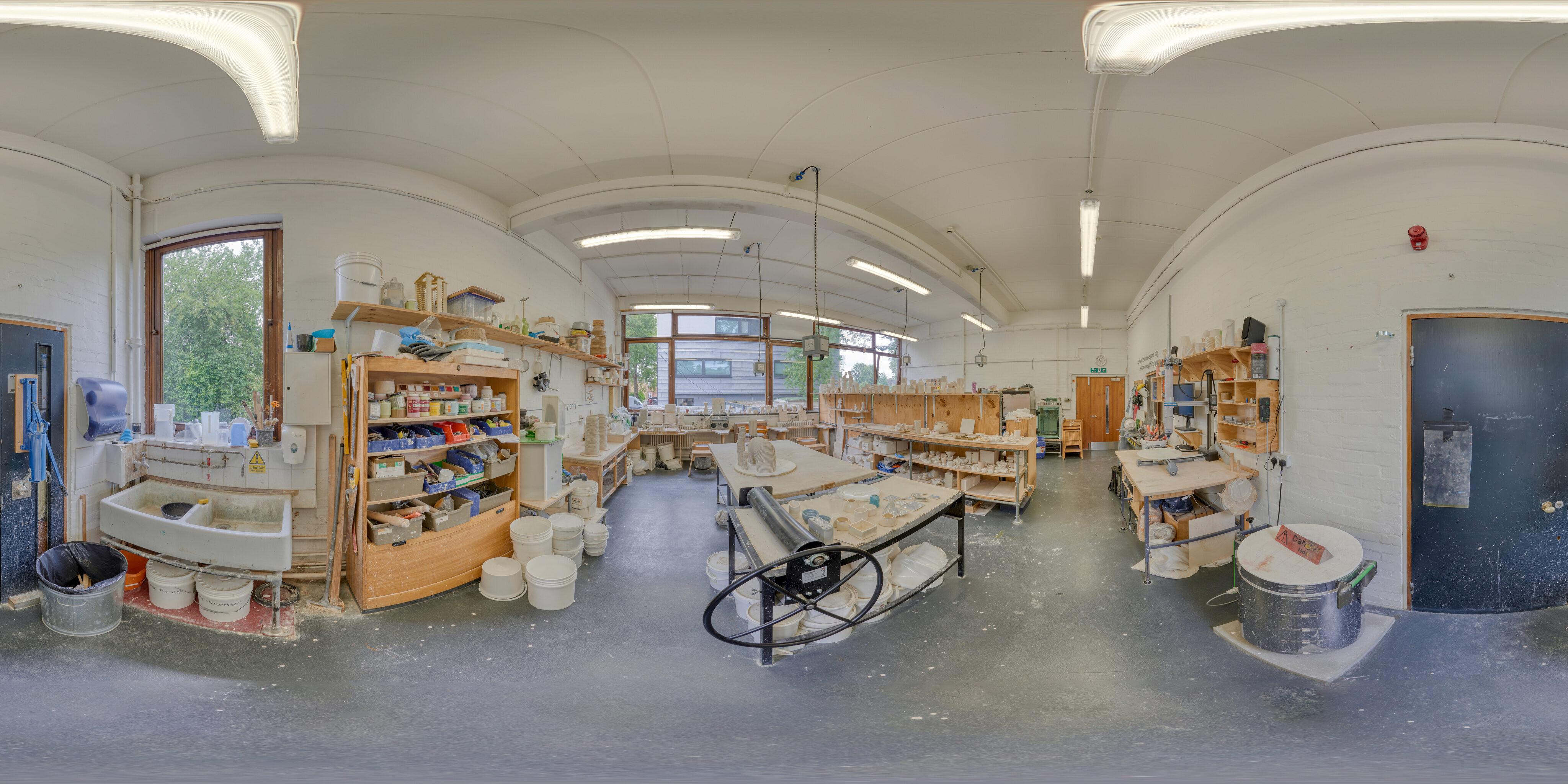 360 of Ceramics Studio