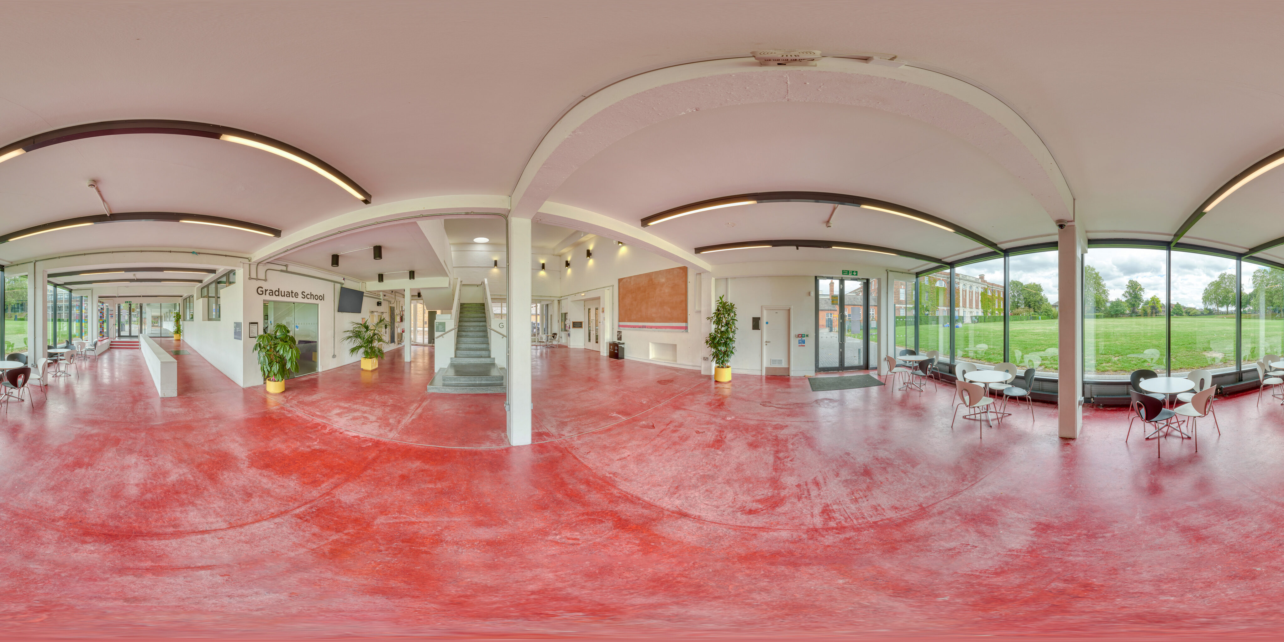 360 of Whitehead Building foyer